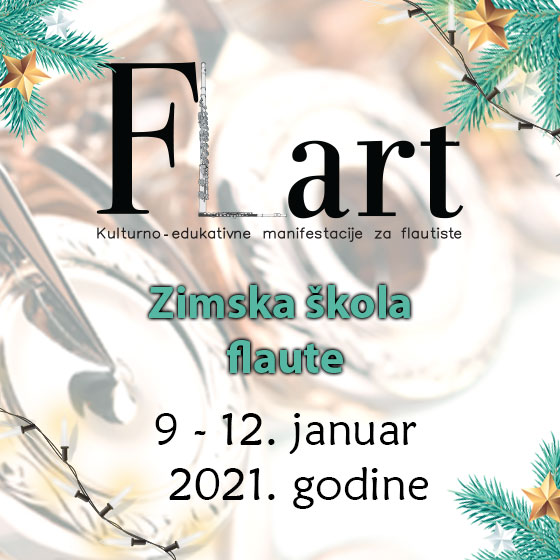 Добродошли на зимску школу флауте ФЛАРТ 2021!