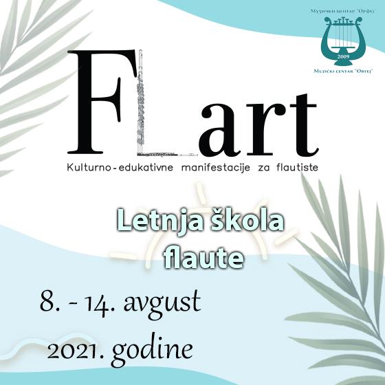 Dobrodošli na letnju školu flaute FLART 2021!